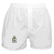 Bahamian Coat of Arms Seal Boxer Shorts