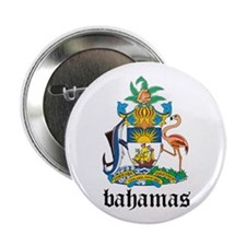 "Bahamian Coat of Arms Seal 2.25"" Button"