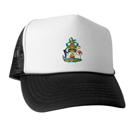 Bahamas Coat of Arms Trucker Hat