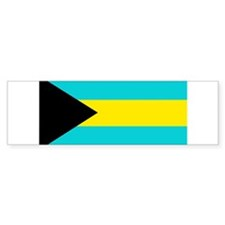 Bahamas Flag Bumper Sticker (50 pk)