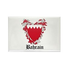 Bahraini Coat of Arms Seal Rectangle Magnet