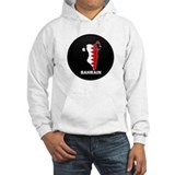 Flag Map of Bahrain Jumper Hoody