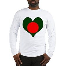I Love Bangladesh Long Sleeve T-Shirt