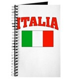 ITALIA: with flag of Italy Journal