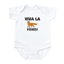 Viva La Foxes Infant Bodysuit