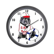 life guard newfy Wall Clock