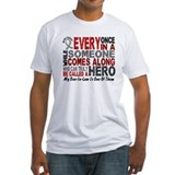 HERO Comes Along 1 Son-In-Law BRAIN CANCER Shirt