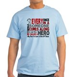 HERO Comes Along 1 Son-In-Law BRAIN CANCER T-Shirt