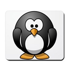 Cartoon Penguin Mousepad
