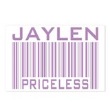 Jaylen Custom Priceless Barcode Postcards (Package