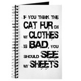 Cat fur on clothes Journal