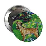 "Irish Terrier summer whimsica 2.25"" Button (10 pac"