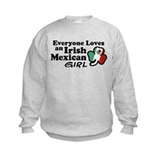 Irish Mexican Girl Sweatshirt