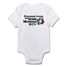 Irish Mexican Boy Infant Bodysuit