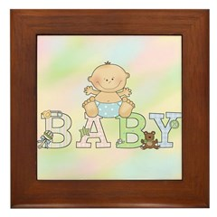 Sweet Baby Framed Tile