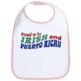 Proud Irish Puerto Rican Bib