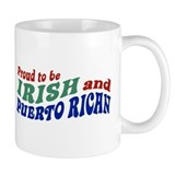 Proud Irish Puerto Rican Coffee Mug