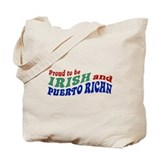 Proud Irish Puerto Rican Tote Bag