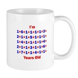 Plus Birthdays 70 Mug