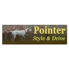 Corwyn Pointer Style & Drive Bumper Bumper Sticker
