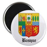 "Basquan Coat of Arms Seal 2.25"" Magnet (10 pack)"