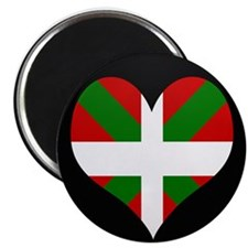 I love Basque Flag Magnet