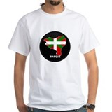 Flag Map of Basque Shirt
