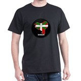 Flag Map of Basque T-Shirt