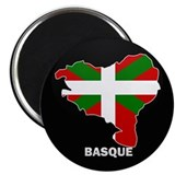 "Flag Map of Basque 2.25"" Magnet (10 pack)"