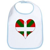 I Love Basque Bib