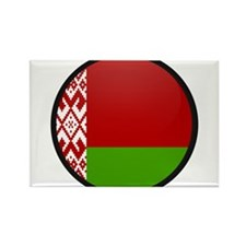 Belarus Rectangle Magnet