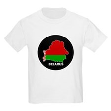 Flag Map of Belarus T-Shirt