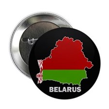 "Flag Map of Belarus 2.25"" Button (10 pack)"