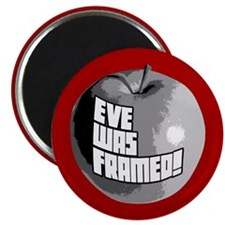 "Eve Was Framed! 2.25"" Magnet (100 pack)"