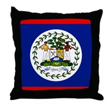 Belizean Throw Pillow