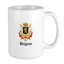 Belgian Coat of Arms Seal Mug