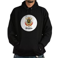 Belgian Coat of Arms Seal Hoodie