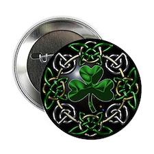 """St. Patrick's Day Celtic Knot 2.25"""" Button"""