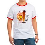 Funny teeshirt - Beauty, eye of the Beer Holder