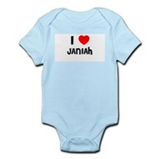 I LOVE JANIAH Infant Creeper