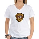 West Covina Police Women's V-Neck T-Shirt