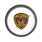 West Covina Police Wall Clock