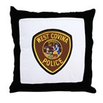 West Covina Police Throw Pillow