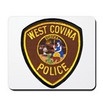 West Covina Police Mousepad