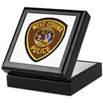 West Covina Police Keepsake Box