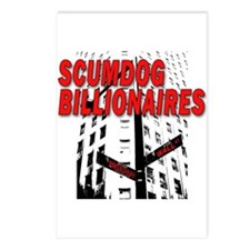 Scumdog Billionaires Postcards (Package of 8)
