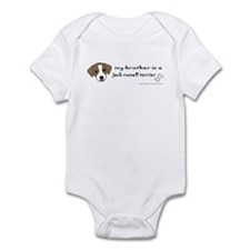 jack russell gifts Infant Bodysuit