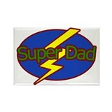 Super Dad - Rectangle Magnet