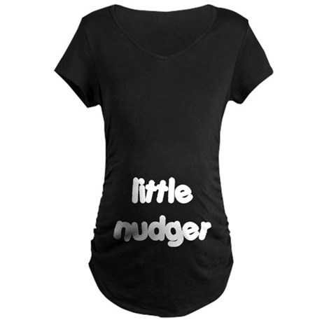 Nudger Maternity Dark T-Shirt
