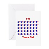 Plus Birthdays 85 Greeting Card